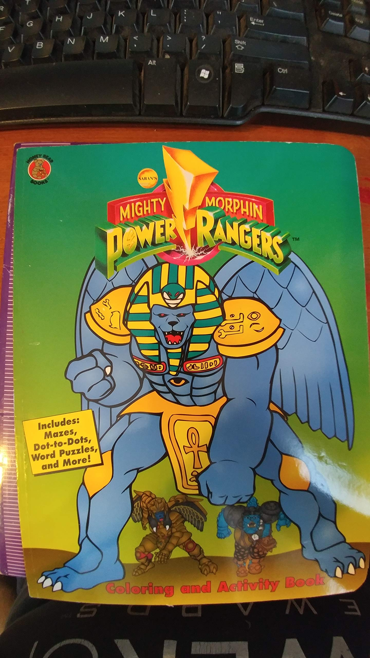 Mighty Morphin Power rangers Coloring and Activity Book unknown ...