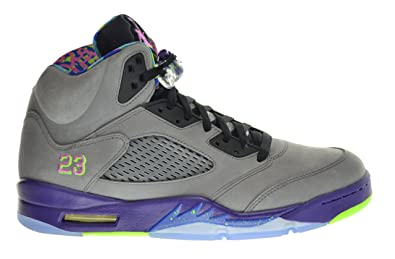 new product 4cd0a 7dfea Image Unavailable. Image not available for. Color  Jordan Air 5 Retro Bel  Air Fresh Prince Men s Shoes Cool Grey Club Pink-