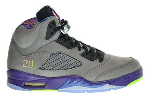 c1ab43317a08eb Image Unavailable. Image not available for. Color  Jordan Air 5 Retro Bel  Air Fresh Prince Men s Shoes Cool Grey Club Pink-