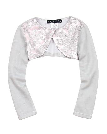 7a9cf8e4106 Amazon.com  Biscotti Girls  Royal Treatment Silver Knit Shrug