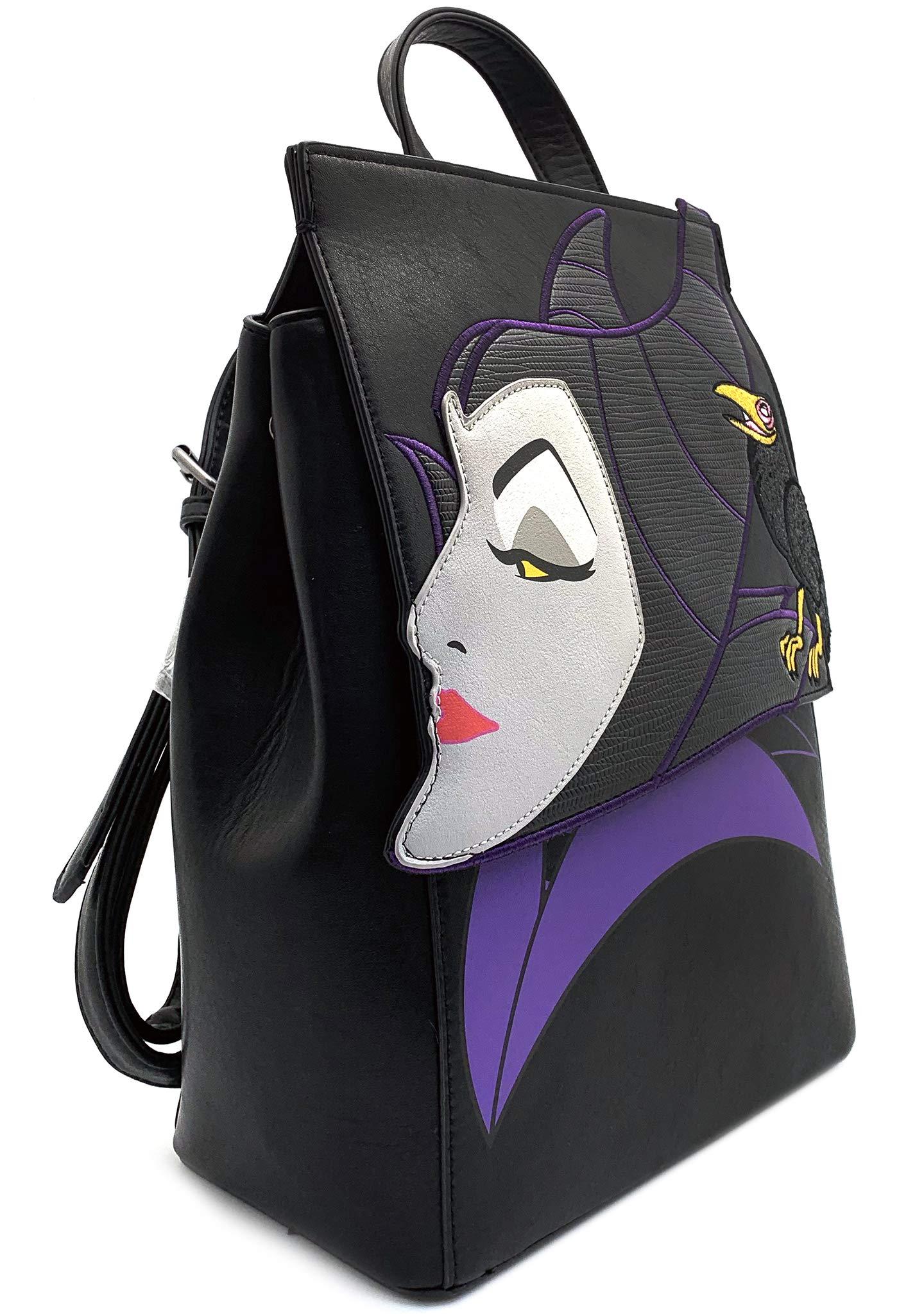 Disney By Danielle Nicole Sleeping Beauty Maleficent Raven Backpack Bag