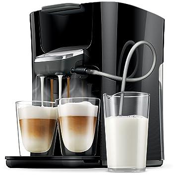 Philips Senseo HD7855 Independiente Máquina de café en cápsulas 1L Negro, Gris - Cafetera (