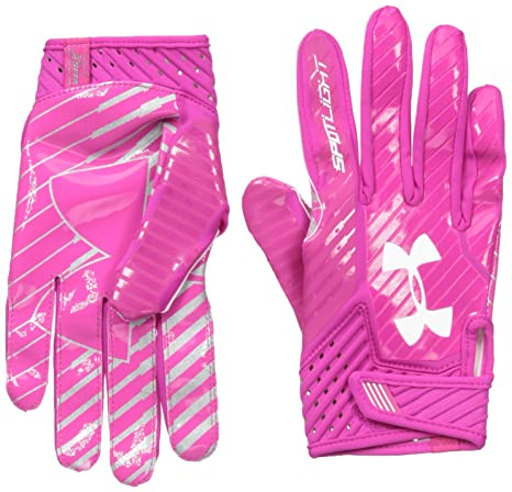 c5d0e8ff1ff2d Amazon.com : Under Armour Men's Spotlight Football Gloves : Clothing