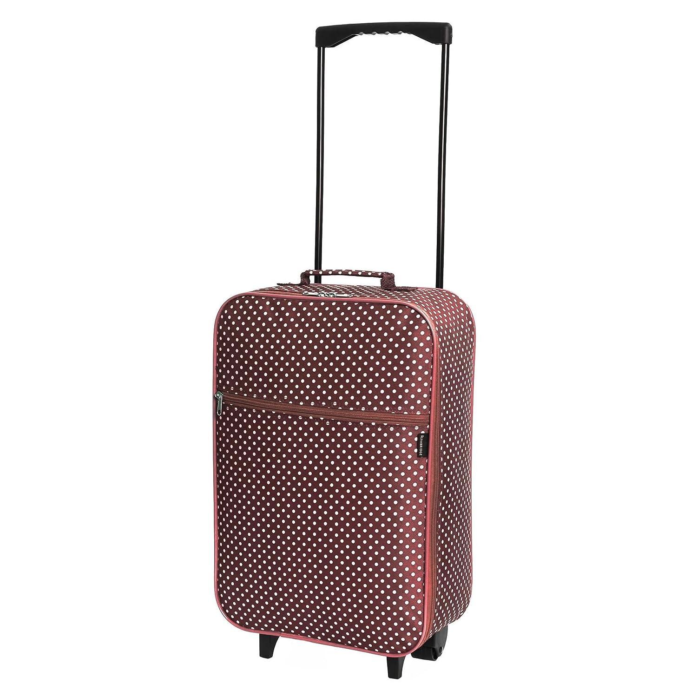 Slimbridge Barcelona bagaglio leggero a mano, Blu Scuro Pois SBL00020