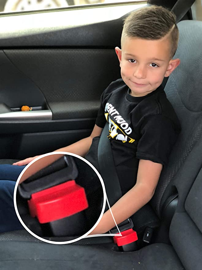 Baby Kids Car Seat Safety Belt Clip Buckle Child Toddler Safe Strap Lock T GD
