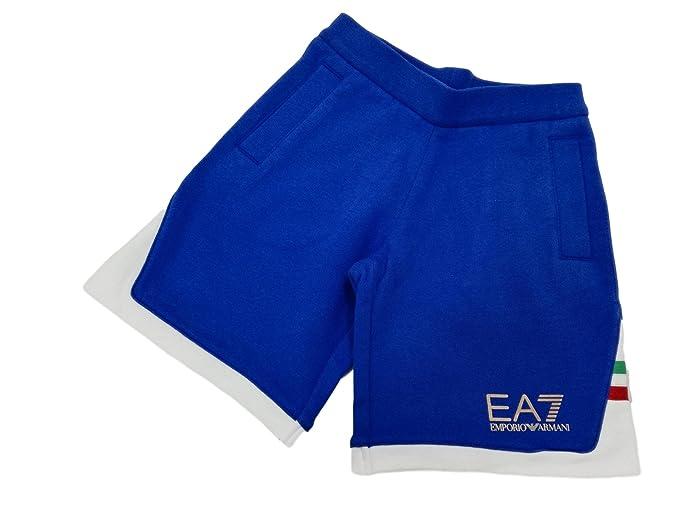 taglia 40 eb015 be961 EA Pantaloncini EA7 Emporio Armani 7 3ZBS54 Bambino Bermuda ...