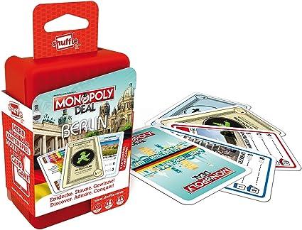 ASS Altenburger 22503321 Shuffle Monopoly Deal City Trip – Berlin: Amazon.es: Juguetes y juegos