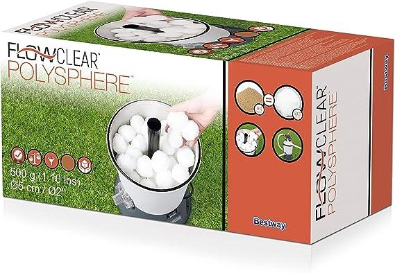Bestway 58475 - Bolas de Filtración para Depuradora Flowclear ...