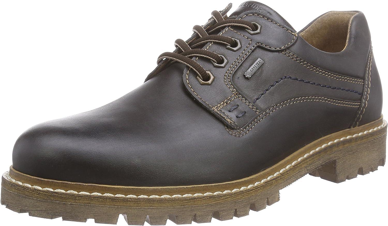 FRETZ MEN Hommes Chaussures Basses GORE TEX cuir noir avec Semelle Amovible Taille 40
