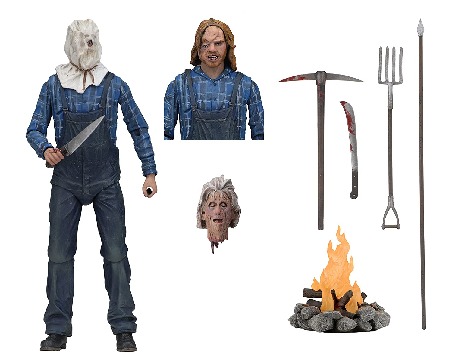 "NECA - Friday The 13th - 7"" Scale Action Figure - Ultimate Part 2 Jason"
