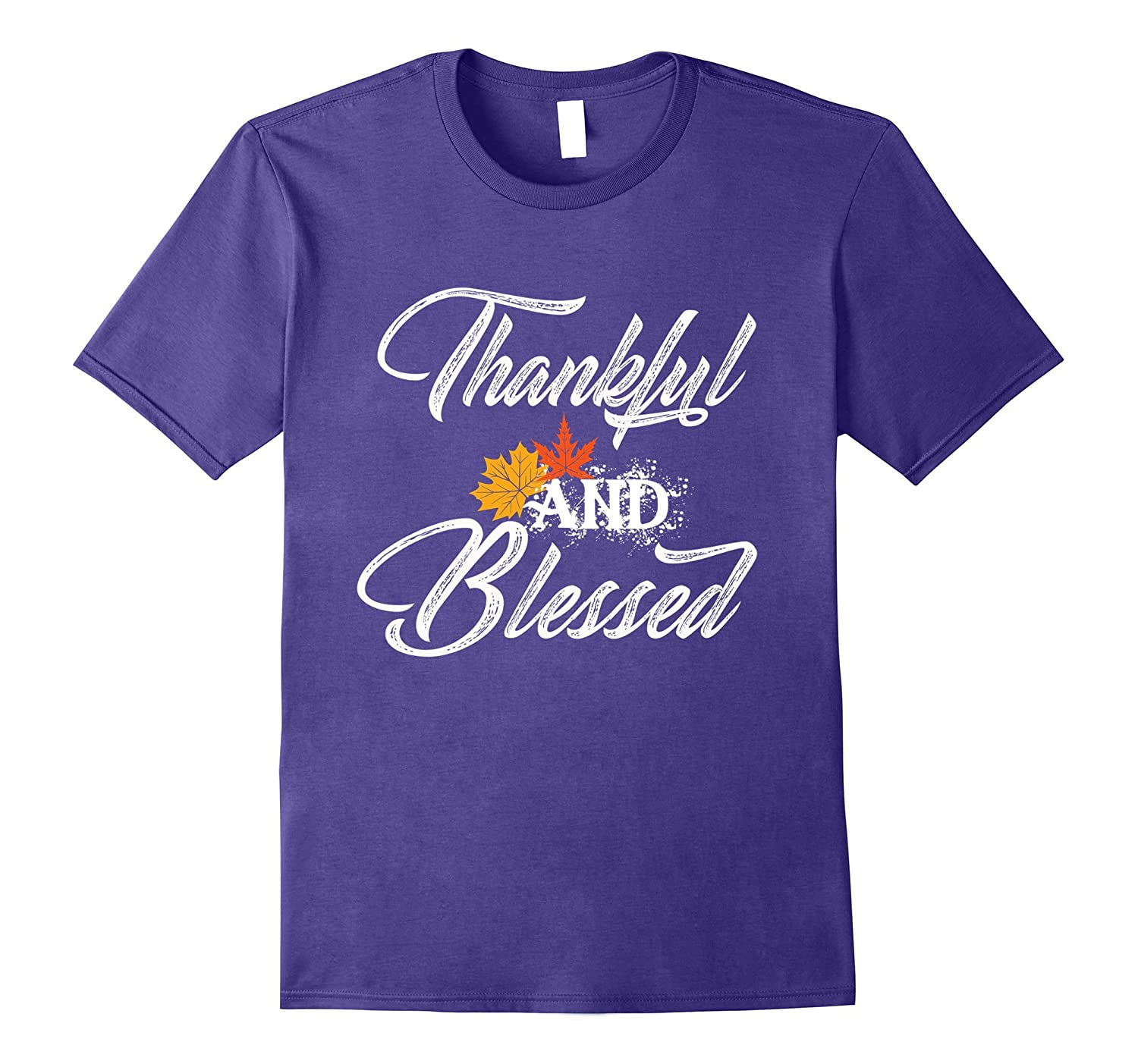 Thankful and Blessed Shirt | Fall & Thanksgiving T-Shirt-Rose