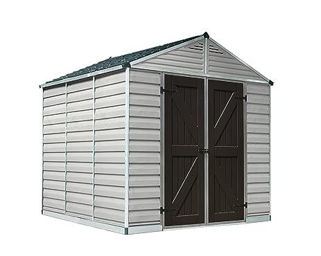 Genial Palram SkyLight Storage Shed, 8u0027 X 8u0027
