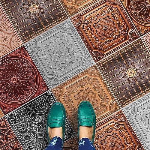 Amazon Homeartdecor Decorative Tiles Copper Bronze And