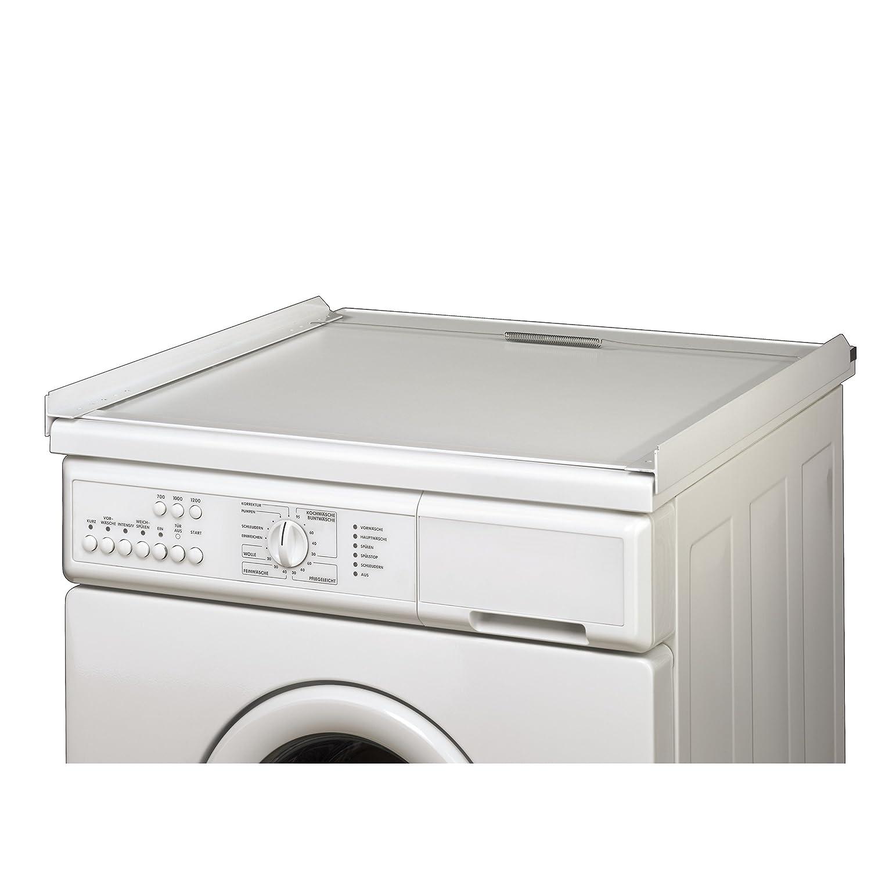 Waschmaschine Trockner übereinander xavax zwischenbausatz ii für waschmaschine und trockner 60 x 60 cm