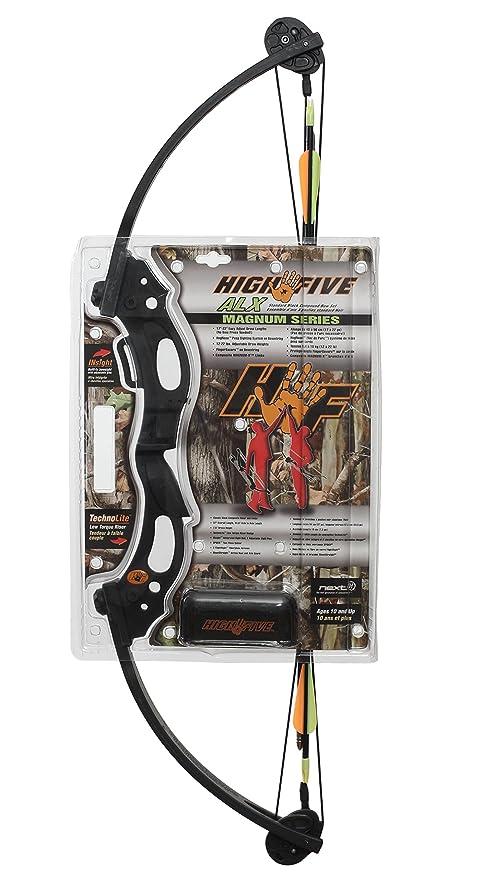 High Five ALX Black Compound Bow Set 545