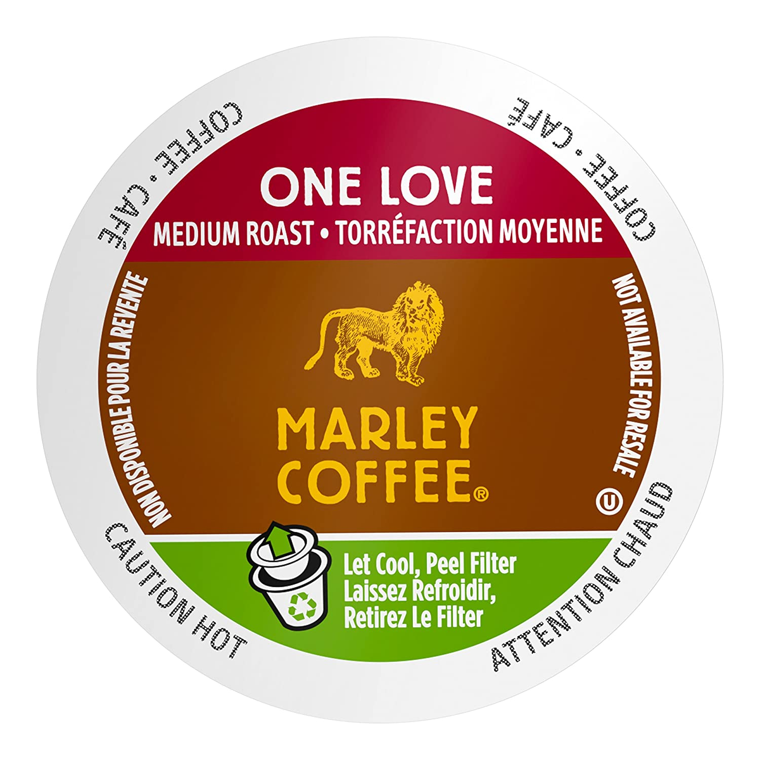 Marley Coffee Lively Up Organic Espresso Roast, 24 Count, compatible with Keurig K-Cup Brewers Lively Up!