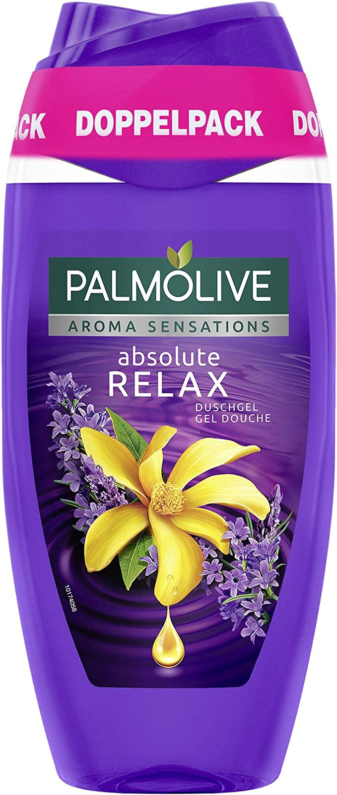Palm olivo Aroma Sensations Absolute Relax Gel de Ducha Doble pack ...
