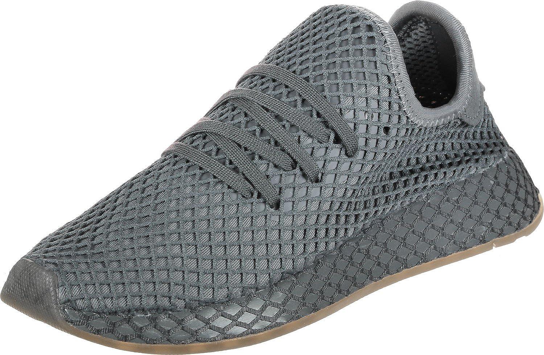 adidas Deerupt Runner Jungen Sneaker (35.5 EU, Grau)