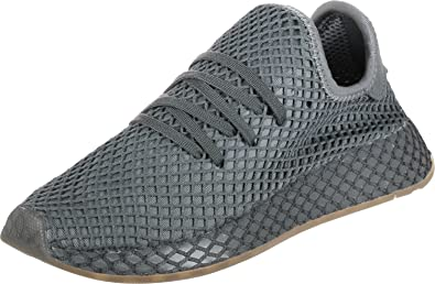 official photos f7890 965cf adidas Deerupt Runner Garcon Baskets Mode Gris  Amazon.fr  Chaussures et  Sacs