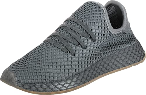more photos ca1d8 f722d adidas Originals Deerupt Runner J Grey Three Textile 37 13 EU Amazon.it  Scarpe e borse