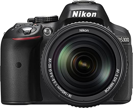 Nikon D5300 Kit con objetivo AF-S DX 18-140mm VR: Amazon.es ...