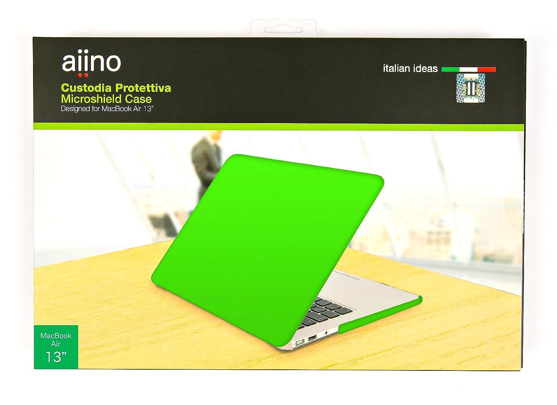 Aiino Hard Shell AIMBA13M-YLW Funda rígida para portátil Apple Apple portátil MacBook Air 13  antideslizante, resistente, delgada - Acabado mate, amarillo cc56fd