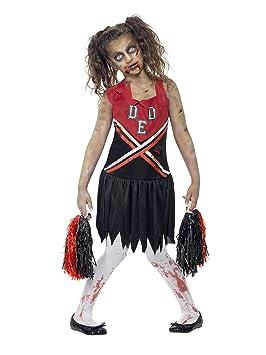 52d2ca508 Zombie Cheerleader - Halloween - Niños Disfraz, 12+ años (T)