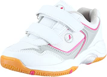 Ultrasport Girls Indoor Shoe  WhitePink