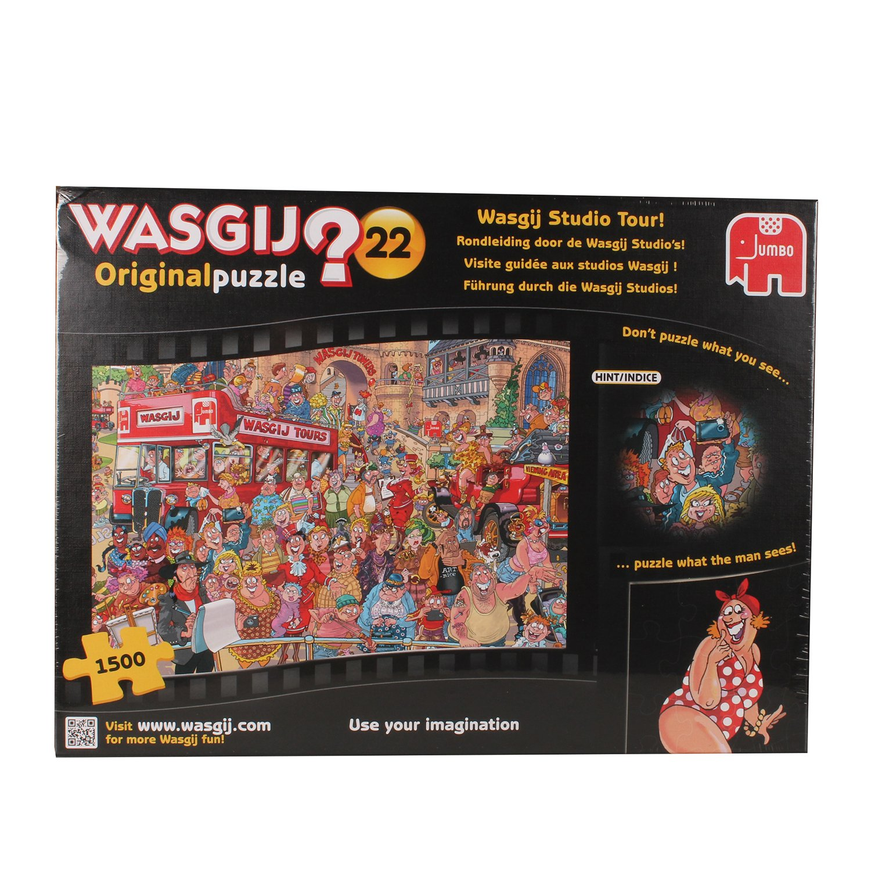 1500pc Wasgij Studio Tour Jigsaw Puzzle