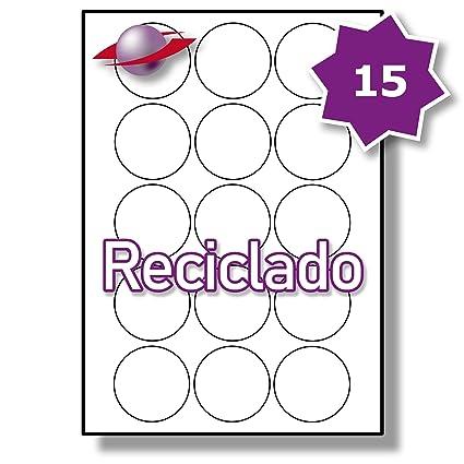 15 Par Hoja, 5 Hojas, 75 Etiquetas. Label Planet® Etiquetas ...