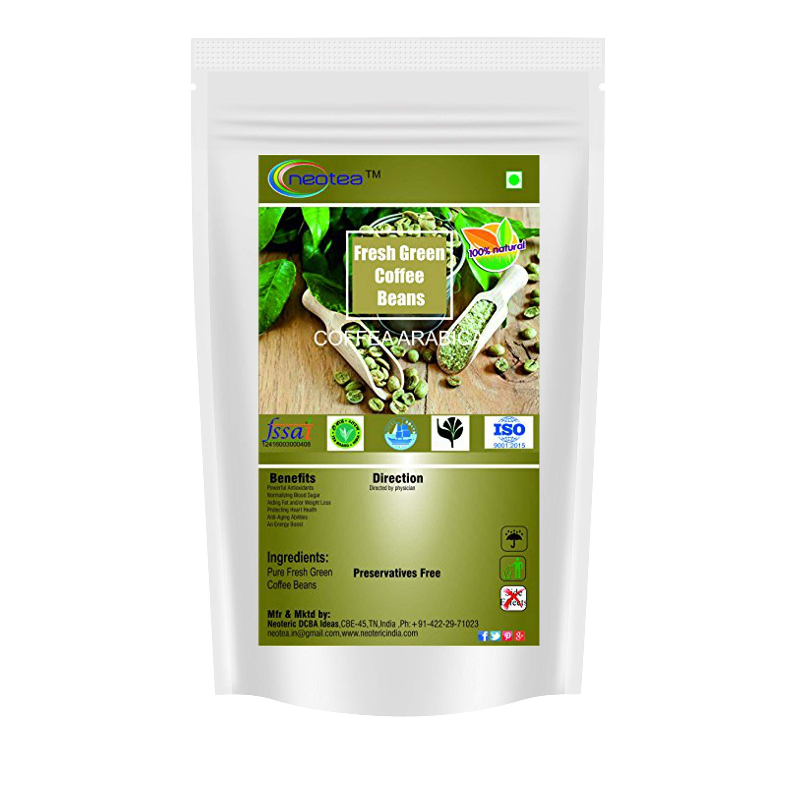 Neotea Fresh Green Coffee Beans (1kg)