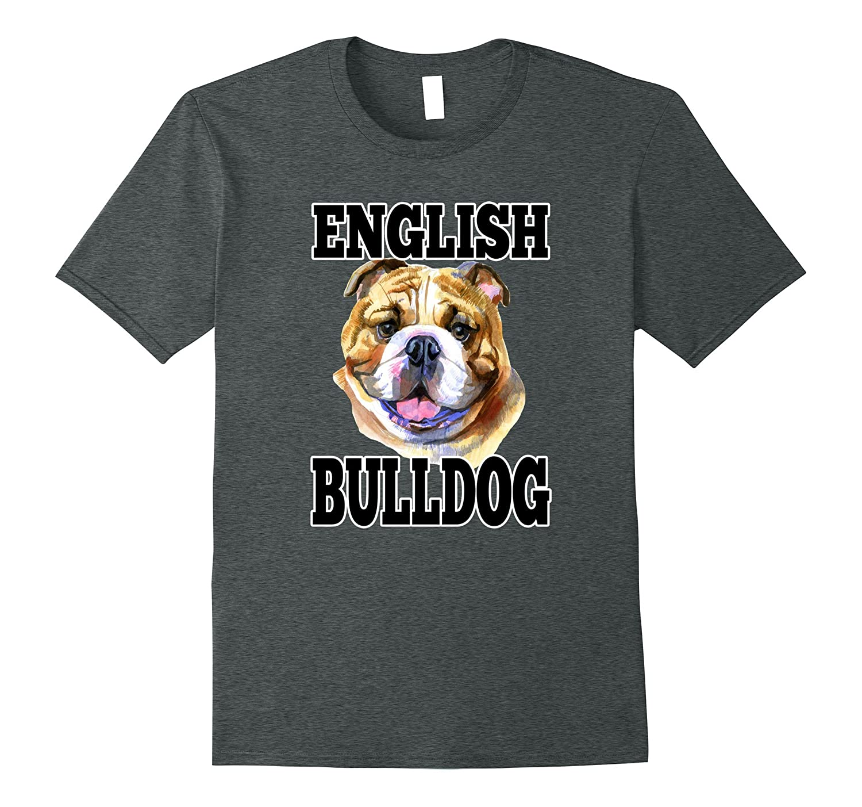 English bulldog art portrait t shirt art artshirtee T shirts for english bulldogs