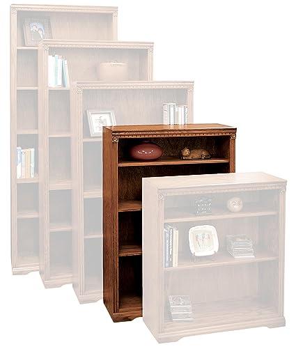 Amazon Com Legends Furniture Sd6848 Rst Scottsdale Bookcase 48