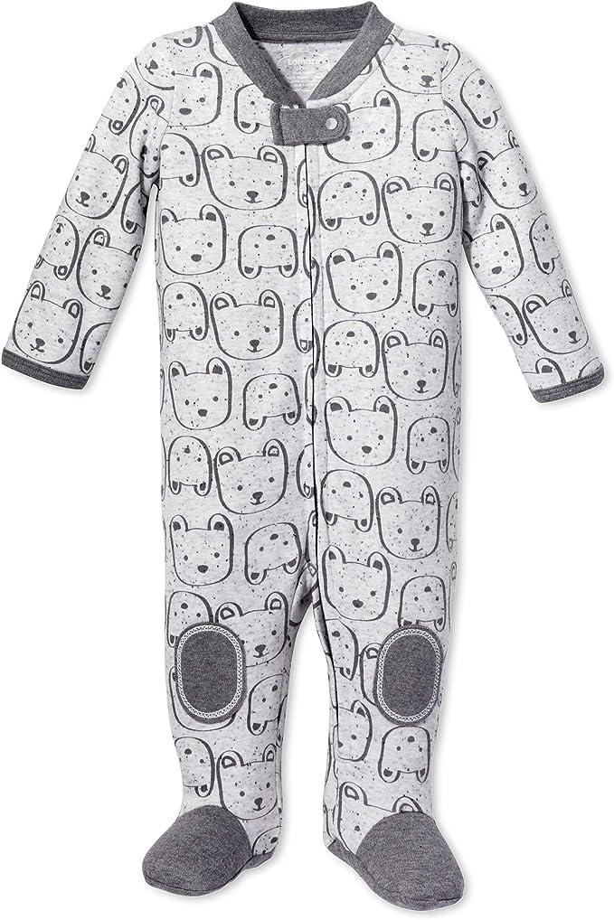 Baby and Toddler Zipper Lamaze Organic Baby Girls Stretchie One Piece Sleepwear Footed