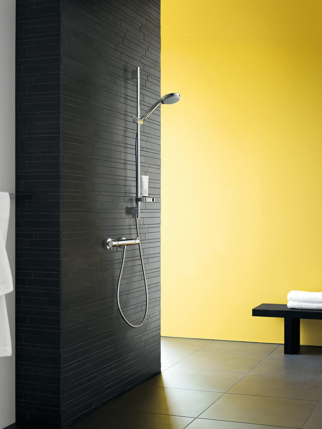 hansgrohe Ecostat Comfort thermostatic shower mixer, chrome