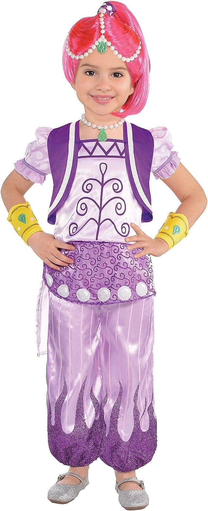 Nickelodeon Shimmer /& Shine Deluxe Shine Girls size S 4//6 Licensed Costume