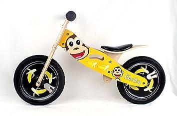 Cheeky bicicleta de equilibrio de Madera: Amazon.es: Juguetes y ...