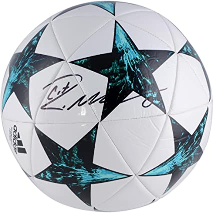 e045c8423e7 Cristiano Ronaldo Real Madrid Autographed Adidas 2017 UEFA Champions League Soccer  Ball - Fanatics Authentic Certified at Amazon s Sports Collectibles Store