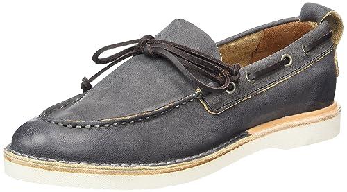 Womens Bootschuhe Vegitabil Leder Boat Shoes Shabbies Amsterdam LPNlzK