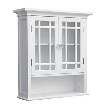 Image Unavailable. Image Not Available For. Color: Rectangle Wall Storage  Cabinet With Glass Doors ...