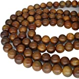 14mm ToBeIT Natural Wood Beads Round Wooden Loose Beads 200pcs for Crafts DIY Jewelry Making