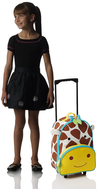 Multicolore Skip Hop Zoo bagage Girafe Giraffe Jules bagage de voyage pour enfants avec porte-nom