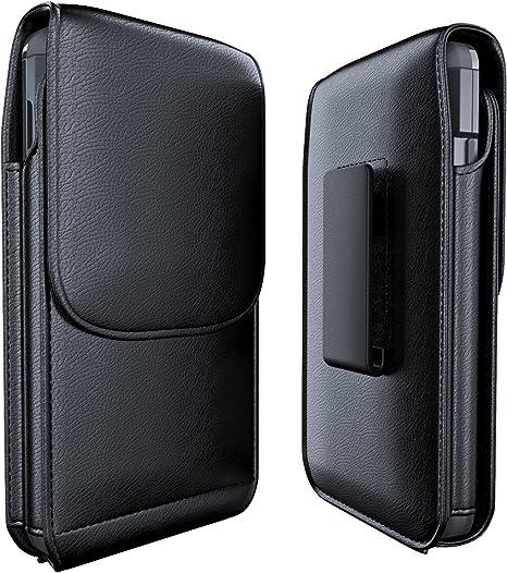 Meilib iPhone 6S Clip ceinture Housse, cuir Ceinture Holster Pouch W/support – Universel pour Téléphone Apple 6/6S Coque W/Portefeuille fente pour ...