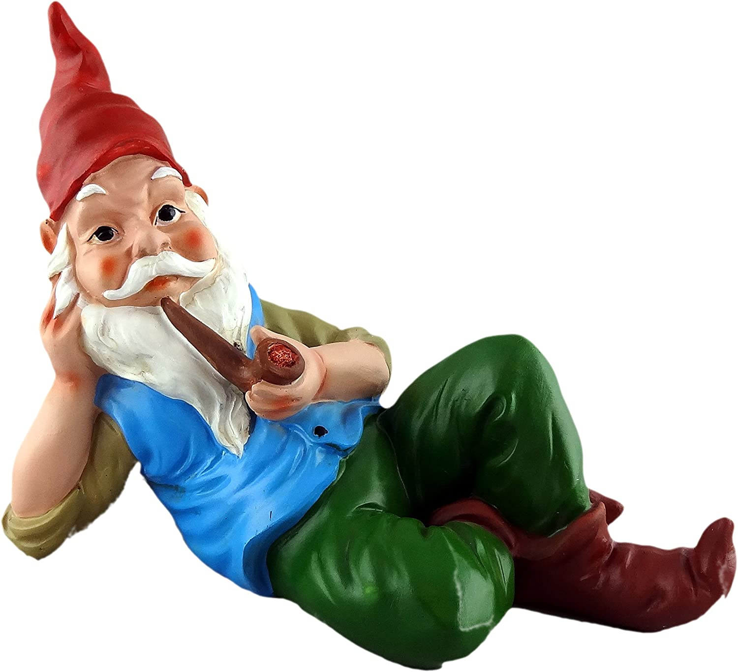 Funny Guy Mugs Garden Gnome Statue - Sexy Gnome - Indoor/Outdoor Garden Gnome Sculpture for Patio, Yard or Lawn