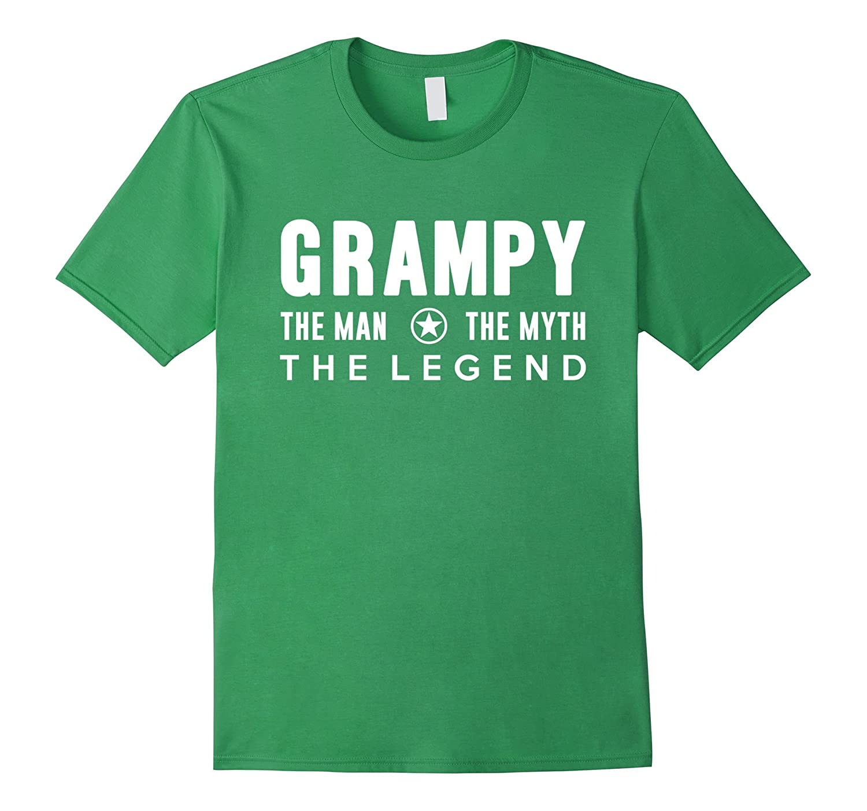 Grampy The Man The Myth The Legend T-Shirt-Art