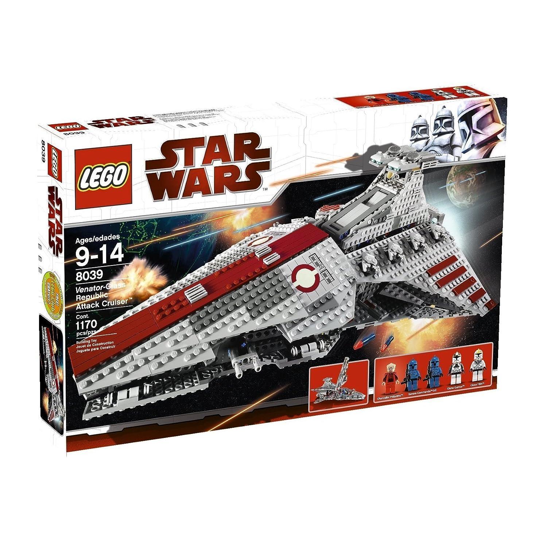 Lego Star Wars 8039 Venator Class Republic Attack Cruiser Amazon