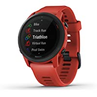 Garmin Forerunner 745, GPS Running Watch, Detailed Training Stats and On-Device Workouts, Essential Smartwatch Functions…