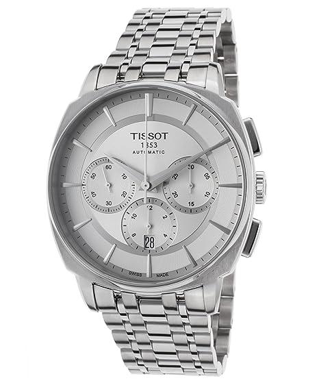 Tissot Reloj Cronógrafo para Hombre de Cuarzo con Correa en Acero Inoxidable T059.527.11.031.00: Amazon.es: Relojes