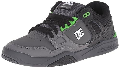 DC Shoes Zapatillas Stag, Caoutchouc Noir, Color Negro, Talla 46.5 D(M) EU: Amazon.es: Zapatos y complementos
