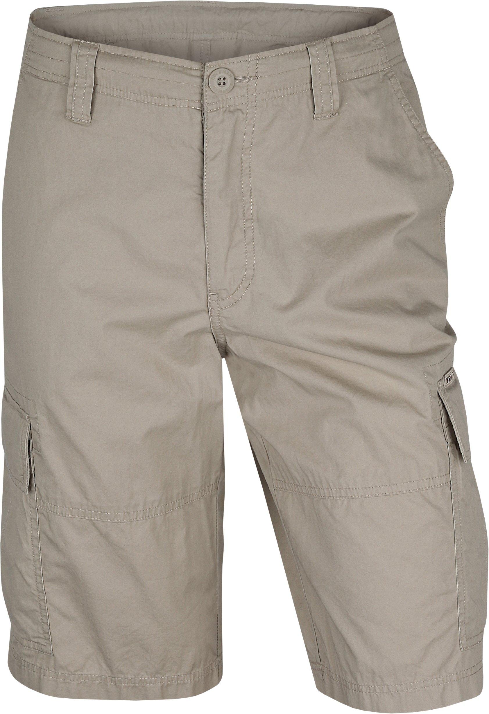 Bushman Outfitters Men's Teron Shorts, Beige, US